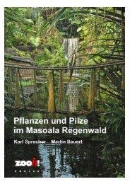 Pflanzendokumentation Masoala, Inhaltsverzeichnis mit ... - Zoo Zürich