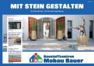 Download als PDF-Datei MIT STEIN GESTALTEN - mobau