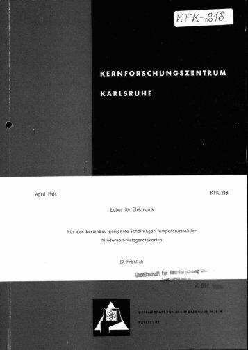 KFK 278 - Bibliothek