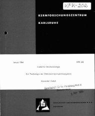 KFK 202 - Bibliothek