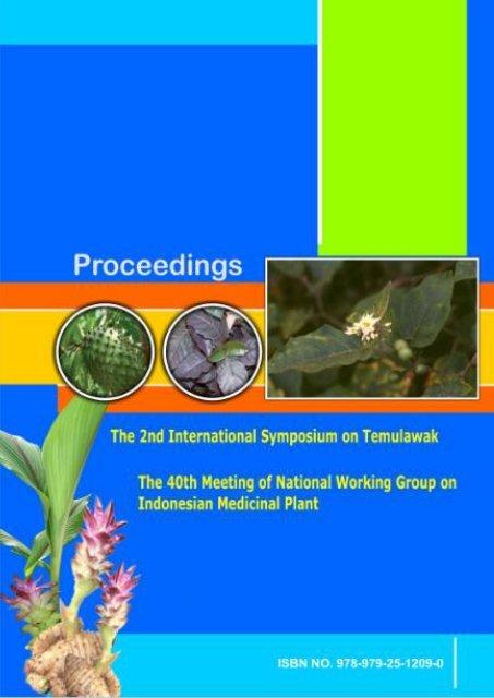 ISBN No. 978-979-25-1209-0 - HERBALNET Digital Repository
