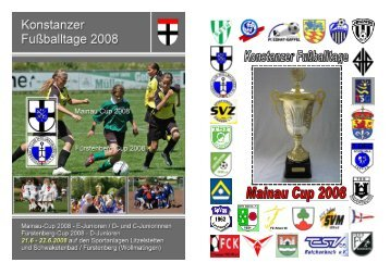 Tunierheft 2008 - SV Litzelstetten