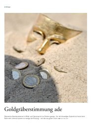 Goldgräberstimmung ade - KSV