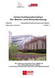 Prüfung in besonderer Form - Bildungsserver Berlin - Brandenburg ...