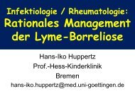 Rationales Management der Lyme-Borreliose