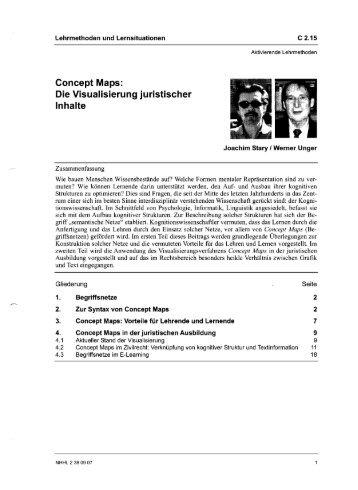 Concept Maps: Die Visualisierung juristischer Inhalte - Blogs Freie ...
