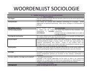 L) WOORDENLIJST_SOCIOLOGIE[1].pdf - Bloggen.be