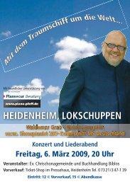 HEIDENHEIM, LOKSCHUPPEN - Chrischona Gemeinde Heidenheim