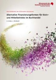 Alternative Finanzierungsformen - Börsenverein des Deutschen ...