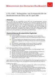 52a UrhG – Stellungnahme zum Evaluationsbericht der ...