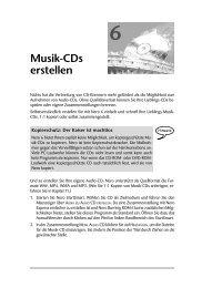 6 Musik-CDs erstellen - Pearson Bookshop