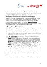 SEPA Checkliste
