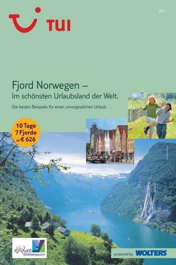 Fjord Norwegen – - TUI Wolters
