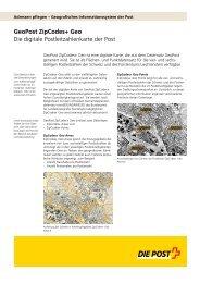 Factsheet GeoPost ZipCodes+ GeoLink wird in einem neuen ...