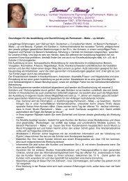 Download Schulungsablauf - Profi Permanent Liner