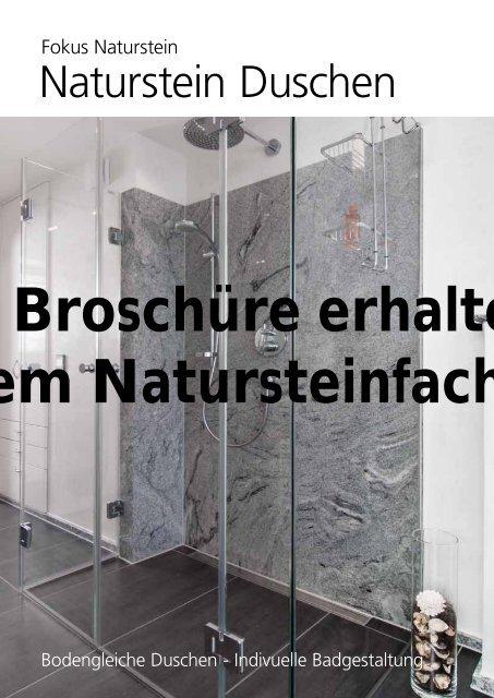 Naturstein Duschen Unastone