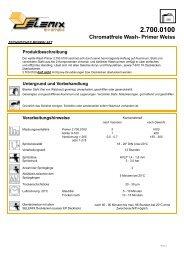 2.700.0100 Chromatfreie Wash- Primer Weiss
