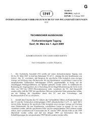 TECHNISCHER AUSSCHUSS Fünfundvierzigste Tagung Genf, 30 ...