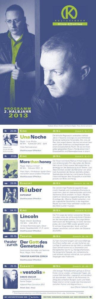 2. Halbjahr 2013 - Stadt Illnau-Effretikon