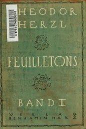 Feuilletons; Vorrede von Raoul Auernheimer