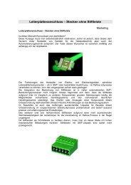 Leiterplattenanschluss Direktstecker 2 - Phoenix Mecano ...