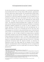11-01-20 Handout die liturgiekonstitution sacrosanctum ... - Kath.de