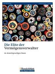Die Elite der Vermögensverwalter - DJE Finanz AG