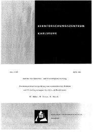 Hochtemperaturversprödung von austenitischen Stählen ... - Bibliothek