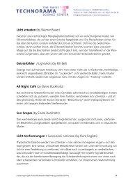 Licht ertasten (by Werner Bauer) Geisterbilder ... - Technorama