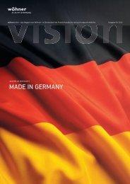 Vision deutsch - Wöhner