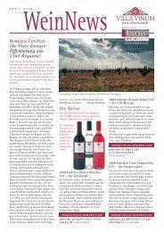 Wein News 04/2010 - Villa Vinum
