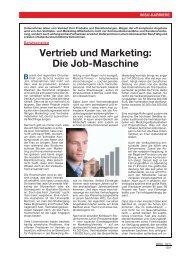 Vertrieb und Marketing - WISU