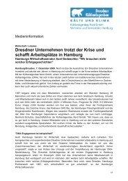 Dresdner Unternehmen trotzt der Krise und schafft Arbeitsplätze in ...