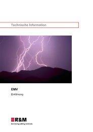 EMV - Technische Information - R&M