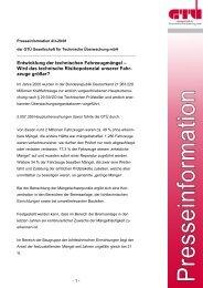 Entwicklung der technischen Fahrzeugmängel (pdf, 69.4 kB) - GTÜ