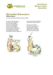 Wilhelm Busch - Die beiden Schwestern