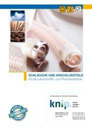 Norres Schläuche + Anschlussteile für ... - knip GmbH Berlin