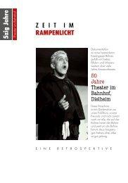 RAMPENLICHT 5zig Jahre - Theater im Bahnhof Dielheim