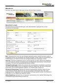 Benutzerhandbuch zum Webshop - Winterhalter + Fenner AG - Page 7