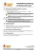 Installationsanleitung tallationsanleitung - IBP-Brandschutz - Page 2