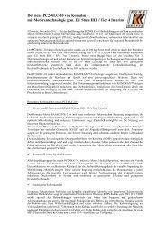Pressebericht PC240LC-10 - KUHN Schweiz AG