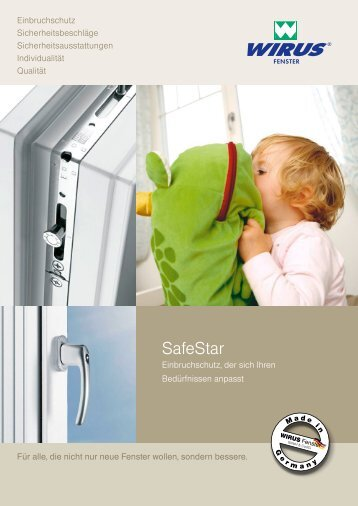 SafeStar - Wirus Fenster