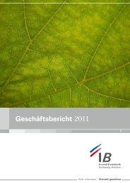 gb 2011.pdf, Seiten 18-35 - Investitionsbank Schleswig-Holstein