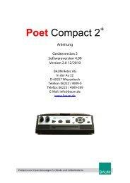 Poet Compact 2 - BAUM Retec AG
