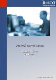 DeskVC Server Edition - Client - - Inico