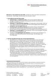 Wandel von Lehre und Studium an deutschen Hochschulen