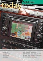 Kundenmagazin today: Selektion Automobil - Arburg