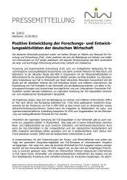 Die Pressemitteilung als pdf - NIW