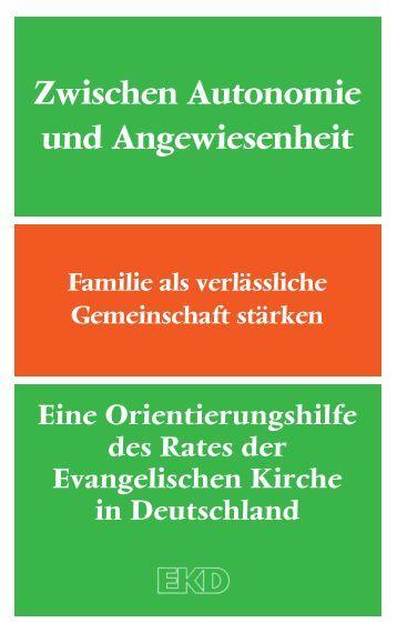 Die Orientierungshilfe im PDF-Format - Evangelische Kirche in ...