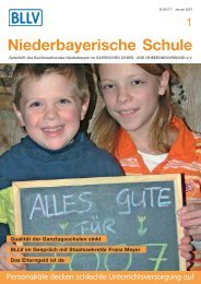 Heft 01/2007 - BLLV